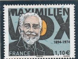 FRANCE 2014 MAXIMILIEN VOX OBLITERE YT 4906 - - Frankreich