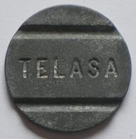 Brasil Telephone Token   TELASA   FONTAMAC  SP   Coin Alignement - Monétaires / De Nécessité