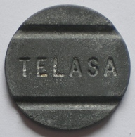Brasil Telephone Token   TELASA   FONTAMAC  SP   Coin Alignement - Monedas / De Necesidad