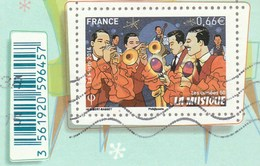 FRANCE 2014 LA MUSIQUE ISSU BLOC ANNEE 50 YT 4879 OBLITERE - France