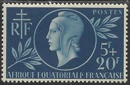 AFRIQUE EQUATORIALE FRANCAISE - AEF - A.E.F. - 1944 - YT 197** - A.E.F. (1936-1958)