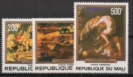 Mali - 1978 - Poste Aérienne PA N°Yv. 315 à 317 - Rubens - Neuf Luxe ** / MNH / Postfrisch - Mali (1959-...)