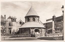 CAMBRIDGE - The Round Church, Gel.m.Sondermarke 1958 - Cambridge