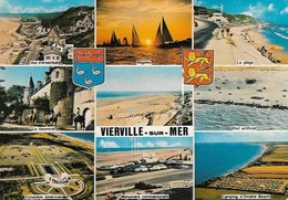 14 Vierville Sur Mer Divers Aspects (2 Scans) - France
