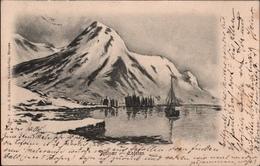 ! Alte Ansichtskarte, Norwegen, Norway Norge Svolvaer Lofoten Island, 1905 - Norwegen