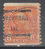 USA Precancel Vorausentwertung Preo, Locals Illinois, Rockford 723-136 - Estados Unidos