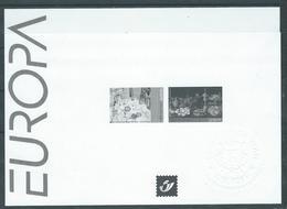 Belgique Feuillet N/B Europa 2005 Neuf - Blocks & Kleinbögen Schwarz