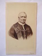Photographie Ancienne CDV - PAPE  PIE IX ( 1792-1878) - Photo Antonio Larco, Roma - Distribution Neurdein -  TBE - Foto