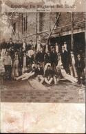 ! Alte Fotokarte, Photo, Schlachterei Bell, Basel, 1912, Schweiz, Arbeiter Aus Dänemark - BS Bâle-Ville