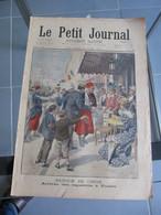 Le Petit Journal N° 553 Chine : Retour Des Zouaves à Toulon / Guerre Transvaal Capitulation à Jamestown  23 Juin 1901 - Journaux - Quotidiens