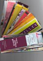 Vends Lot De 150 Marque_pages Differents - Bookmarks