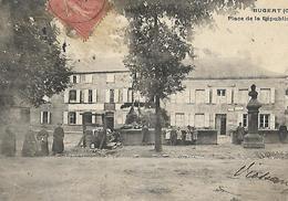 BUGERT Place  Statue 1906 - Autres Communes