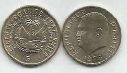 Haiti 5 Centimes 1975. - Haiti