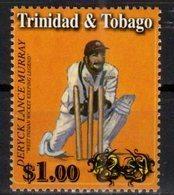 TRINIDAD  AND TOBAGO,MNH,SPORTS, CRICKET, , OVERPRINT, 1v - Cricket