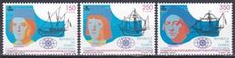 Äquatorial-Guinea Ecuatorial 1991 Gschichte History Entdeckungen Discovery Kolumbus Columbus Schiffe Ship, Mi. 1738-0 ** - Guinea Ecuatorial