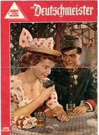 """ROMY SCHNEIDER In """"DIE DEUTSCHMEISTER"""" Austria 1955 Original German Film Program - Films & TV"""