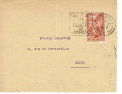 DAGUIN MAROC CASABLANCA POSTES    J34 - Marokko (1891-1956)