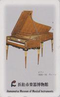 Télécarte Japon / 110-011 - MUSEE Instruments De MUSIQUE - PIANO Vienne - KLAVIER WIEN MUSIC MUSEUM JAPAN Phonecard - 49 - Musik