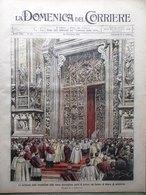 La Domenica Del Corriere 16 Settembre 1906 Corsa All'oro Giacosa Arcore Beziers - Libri, Riviste, Fumetti