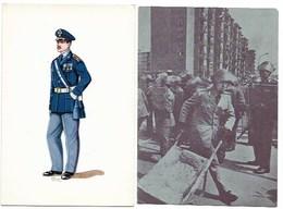 CORPO DELLA GUARDIA DI P.S. E LE SUE UNIFORMIMAGGIORE IN GRANDE UNIFORME INVERNALE  1958 - Uniformi
