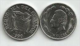Ecuador 1 Sucre 1990. High Grade - Ecuador