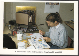 44 - SAINT-LYPHARD - Mme Charriau Réalise Des émaux D'art - 1988 - Saint-Lyphard