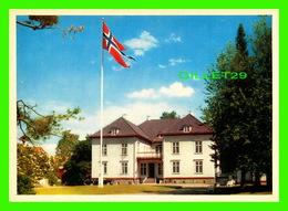 NORWAY, NORVÈGE - EIDSVOLL MANSION IN WHICH, IN 1814, THE NORWEGIAN CONSTITUTION WAS DRAWN UP - AUNE - - Norvège