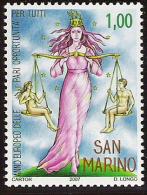 2007 San Marino Mi. 2318 **MNH Chancengleichheit Für Alle - Europäischer Gedanke