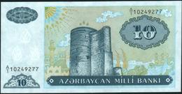 AZERBAIJAN - 10 Manat Nd.(1993) UNC P.16 - Azerbeidzjan