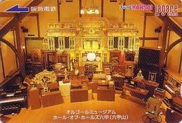 Carte Prépayée Japon - Musique ORGUE / Musée Automate Orchestrion - ORGAN Japan Prepaid Card - ORGEL Musik Karte - 50 - Musique