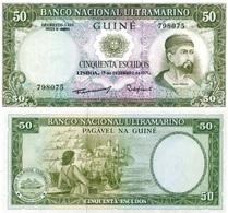 PORTUGAL Portuguese Guinea Guinea Bisau 50 Escudos 1971 P 44 UNC - Guinea-Bissau