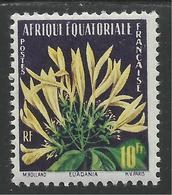 AFRIQUE EQUATORIALE FRANCAISE - AEF - A.E.F. - 1958 - YT 243** - A.E.F. (1936-1958)
