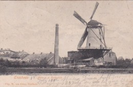 260455Enschede, Molen A. D. Kortendijk (poststempel 1902) - Enschede