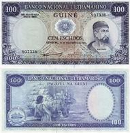 PORTUGAL Portuguese Guinea Guinea Bisau 100 Escudos 1971 P 45 UNC - Guinea-Bissau