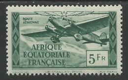 AFRIQUE EQUATORIALE FRANCAISE - AEF - A.E.F. - 1944 - YT PA 35** - A.E.F. (1936-1958)
