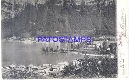 111210 SWITZERLAND CAPOLAGO VIEW GENERAL POSTAL POSTCARD - Svizzera