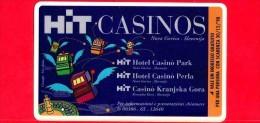 VIACARD - Viacard Pubblicitarie - Hit Casinos - Tessera N. 264 - 50.000 - Pub - Italië