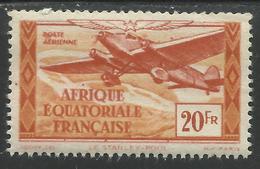 AFRIQUE EQUATORIALE FRANCAISE - AEF - A.E.F. - 1944 - YT PA 40** - A.E.F. (1936-1958)