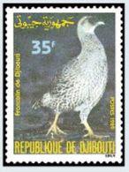 """Djibouti YT 654 """" Oiseau """" 1989 Neuf** - Dschibuti (1977-...)"""