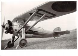 Avion - Monoplan - Dim. 175 X 125 Mm. - Aviación