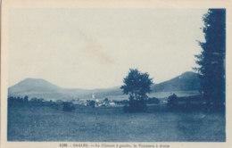 67  Bas  Rhin  -  Saales  -  Le  Climont  à  Gauche  Le  Voyemon  à  Droite - France