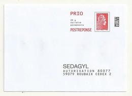 POSTREPONSE PRIO  SEDAGYL  LOT 204325 - 2018-... Marianne L'Engagée