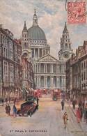 Illustration Illustrateur Raphael Tuck Cpa Oilette London N°3641 St Paul's Cathedral - Tuck, Raphael