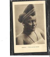 Afrique-Cameroun-Jolie Portrait De Femme Avec Un Type De COIFFURE INDIGENE - Cameroun