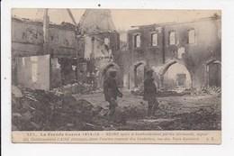 CPA 51 Guerre 1914 15 Reims Apres Bombardement Aspect Des établissements Lainé Rue Des Trois Raisinets - Autres Communes