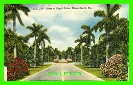 MIAMI BEACH, FL - LANES OF ROYAL PALMS - DADE COUNTY NEWSDEALERS SUPPLY CO - D. C. - - Miami Beach