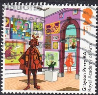 """2018 GB  250th Anniversary Of The Royal Academy Of Arts  - """"Summer Exhibition"""", By Grayson Perry RA  1st  Used - 1952-.... (Elizabeth II)"""