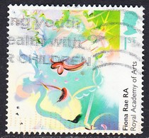 """2018 GB  250th Anniversary Of The Royal Academy Of Arts  - """"Queen Of The Sky"""", By Fiona Rae RA  1st  Used - 1952-.... (Elizabeth II)"""