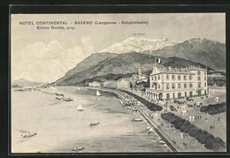 Cartolina Baveno, Hotel Continental Am Langensee - Italia
