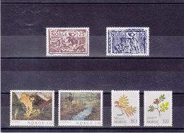 NORVEGE 1980 Yvert  777-782 NEUF** MNH - Noorwegen